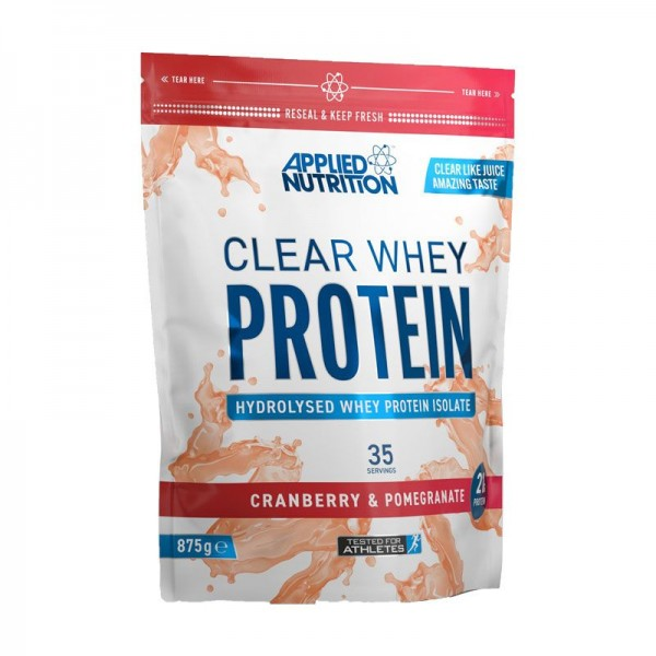 Applied Nutrition Clear Whey Cranberry Pomegranate 875g